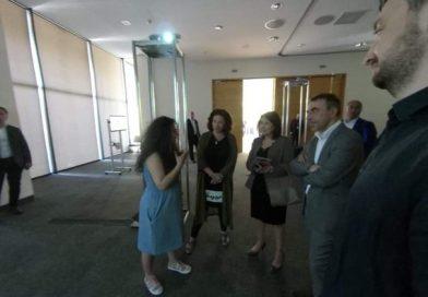 Gürcüstan prezidenti Tbilisi İncəsənət Sərgisində Azərbaycan pavilyonu ilə tanış olub