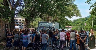 Gürcüstanda azərbaycanlıların yaşadığı kənddə etiraz aksiyası keçirilib