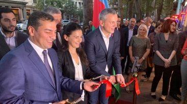 """Tbilisidə """"Azerbaijan.Travel"""" qonaq mərkəzinin açılışı olub"""