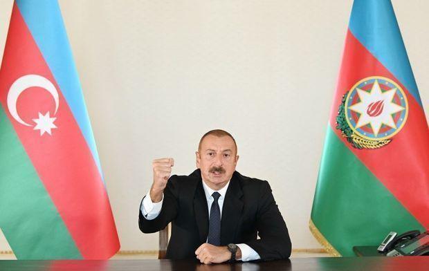 İlham Əliyev Azərbaycan Ordusunun Zəngilan şəhərini və daha 24 kəndi azad etdiyini bildirdi