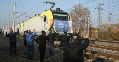 Bakı-Tbilisi-Qars dəmir yolu ilə, ilk türk yük qatarı Çinə yola düşür