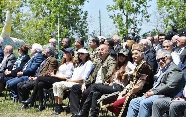 """Şuşada """"Xarıbülbül"""" musiqi festivalı başa çatdı"""